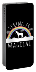 Spring Is Magical Portable Battery Charger