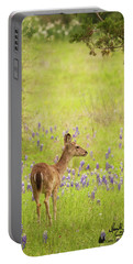Springtime Whitetail Portable Battery Charger