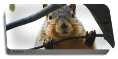 Spying Fox Squirrel Portable Battery Charger