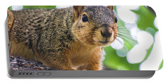 Squirrel Close Up Portable Battery Charger