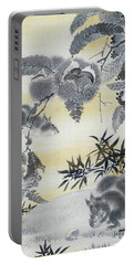 Squirrels Gathering Chestnuts - Digital Remastered Edition Portable Battery Charger