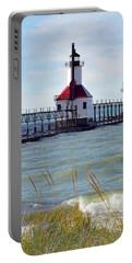 St. Joe, Michigan Lighthouse Portable Battery Charger