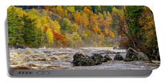 St. Louis River At Jay Cooke Portable Battery Charger