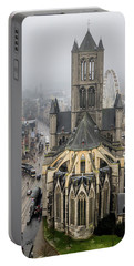 St. Nicholas Church, Ghent. Portable Battery Charger