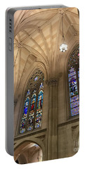 St Patricks Stained Glass Portable Battery Charger