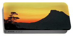 Stac Polly Mountain Sunset Portable Battery Charger