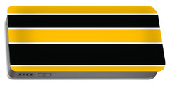 Stacked - Black And Yellow Portable Battery Charger