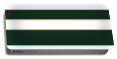 Stacked - Green, White And Yellow Portable Battery Charger