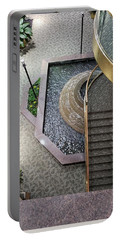 Stairs And Fountain  Portable Battery Charger
