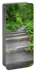 Stairs To The Woods Portable Battery Charger