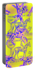 Stamps And Stallions Portable Battery Charger