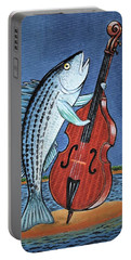 Stand Up Striped Bass With Stand Up Striped Bass Portable Battery Charger