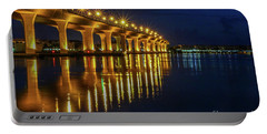 Starburst Bridge Reflection Portable Battery Charger