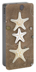 Starfish In The Sand Portable Battery Charger