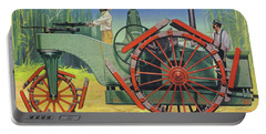 Steam Traction Engine Created To Work In The Sugar Plantations Of Cuba Portable Battery Charger
