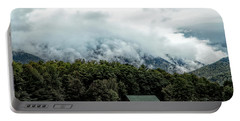 Steaming White Mountains Portable Battery Charger