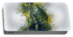 Steampunk Dragon Portable Battery Charger