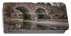 Portable Battery Charger featuring the photograph Stone Bridge by Travis Rogers