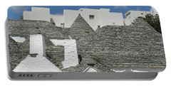 Stone Coned Rooves Of Trulli Houses Portable Battery Charger