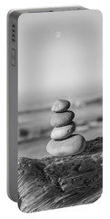 Stones Point Arena Beach California Portable Battery Charger