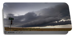 Storm Chasin In Nader Alley 004 Portable Battery Charger