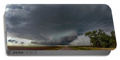 Storm Chasin In Nader Alley 008 Portable Battery Charger