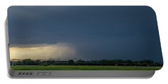 Storm Chasing West South Central Nebraska 002 Portable Battery Charger
