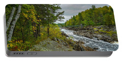Storm Clouds At Jay Cooke Portable Battery Charger