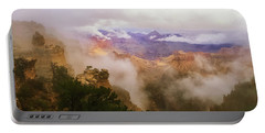 Storm In The Canyon Portable Battery Charger