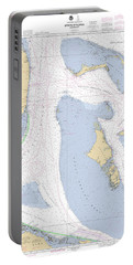 Straits Of Florida, Eastern Part Noaa Nautical Chart Portable Battery Charger