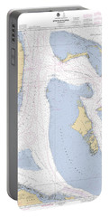 Straits Of Florids, Eastern Part Noaa Chart 4149 Edited. Portable Battery Charger