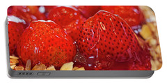 Strawberry Glaze Portable Battery Charger