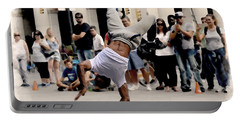 Street Dance. New York City. Portable Battery Charger