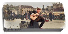 Street Music. Guitar. Portable Battery Charger