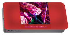 Portable Battery Charger featuring the photograph Strike Only In Defense by Judy Kennedy