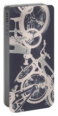 Stunt Bike Trickery Portable Battery Charger