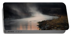 Sturgeon River Morning Portable Battery Charger