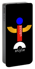 Style Black Portable Battery Charger