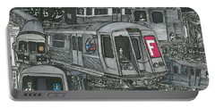 Subway Synchronicity Portable Battery Charger