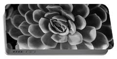 Succulent - Bw - 2 Portable Battery Charger