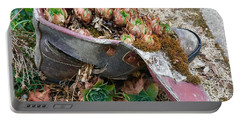 Succulents In A Boot Portable Battery Charger