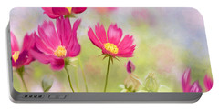 Summer Blossom Portable Battery Charger