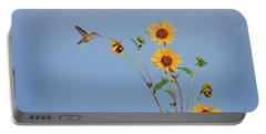 Summer Day Hummingbird Portable Battery Charger