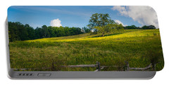 Blue Ridge Parkway - Summer Fields Of Yellow - Lone Tree Portable Battery Charger
