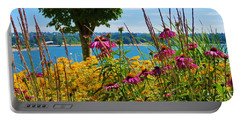 Summer Flowers Vancouver 1 Portable Battery Charger