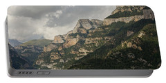 Portable Battery Charger featuring the photograph Summer In The Anisclo Canyon by Stephen Taylor