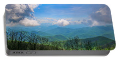 Summer Mountain View Portable Battery Charger