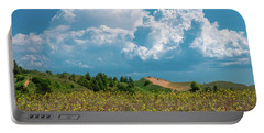 Summer Storm Over The Dunes Portable Battery Charger