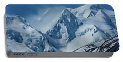 Summer Winds In Mount Cook National Park Portable Battery Charger