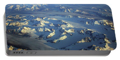 Sun Kissed Glaciers Portable Battery Charger